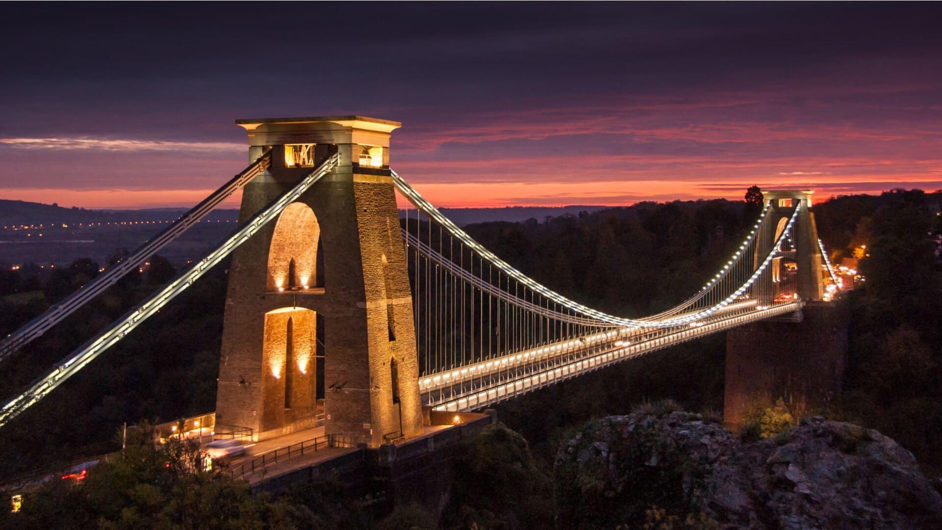Bristol at night